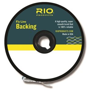 FLYLINE BACKING 20LBS 100YD CHAR