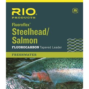 FLUROFLEX LEADER 9FT 12LB SAUMON