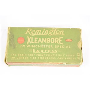 REMINGTON KLEANBORE EXPRESS 32 WINCHESTER SPPECIAL